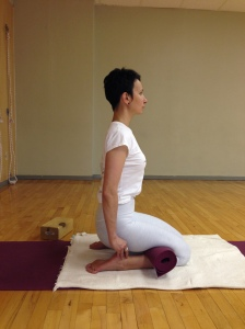 virasana side view - zhanna