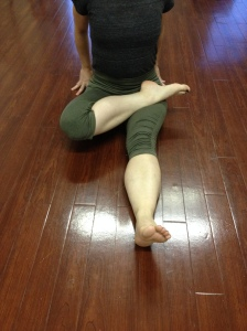 Right Leg Padmasana